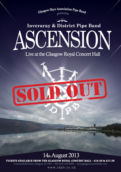 IDPB - Ascension - Sold Out